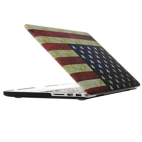 MacBook Pro 13 inch cover - Retro VS flag