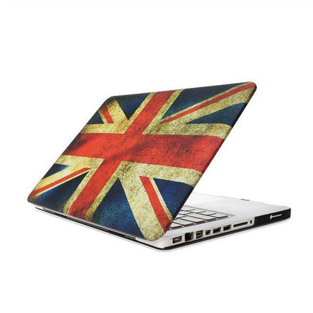 MacBook Pro 15 inch cover - Retro UK flag