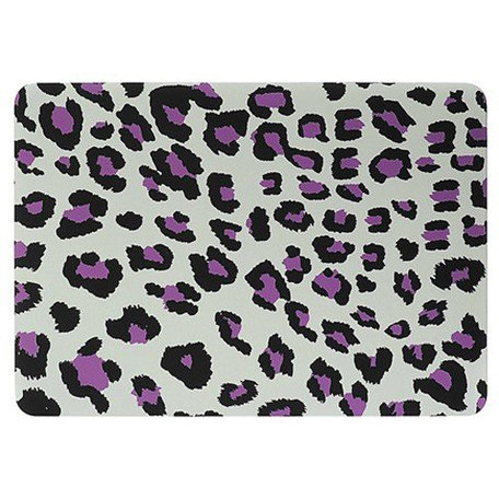 MacBook Pro 15 inch cover - Leopard Paars