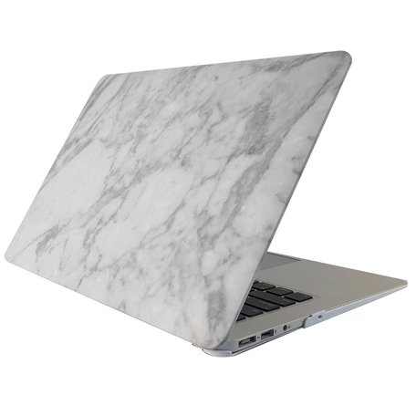 MacBook Pro 15 inch case - Marble - wit