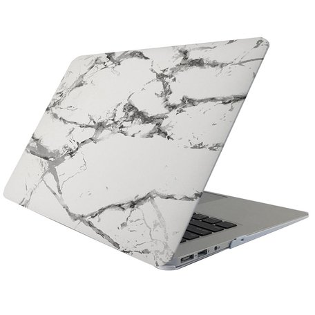 MacBook Pro 15 inch case - Marble - Grijs