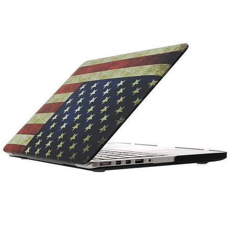 MacBook Pro Retina 15 inch cover - Retro VS flag