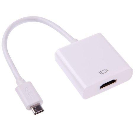 Type-C USB 3.1 - HDMI adapter voor MacBook 12 inch - wit