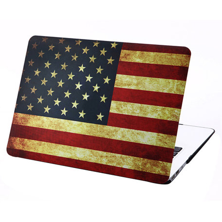 MacBook Air 13 inch cover - Retro VS flag