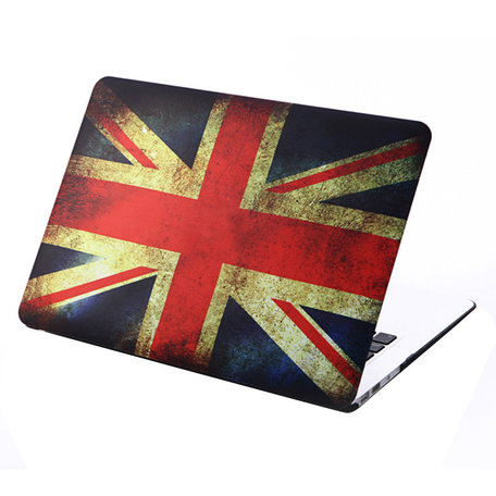 MacBook Air 13 inch cover - Retro UK flag