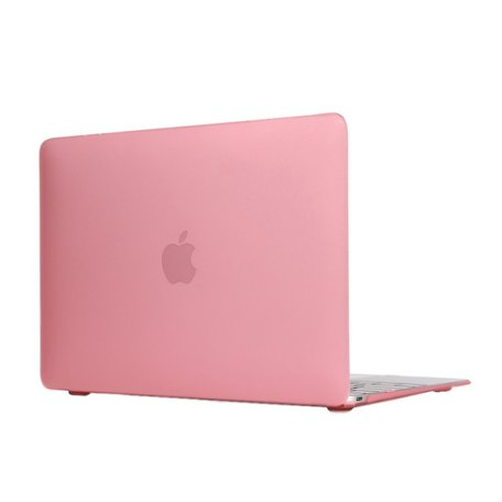 MacBook 12 inch case - Roze
