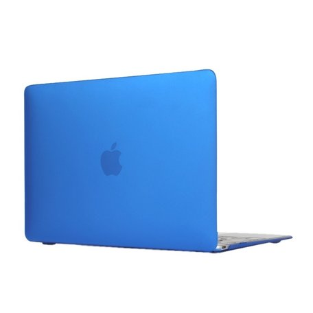 MacBook 12 inch case - Blauw