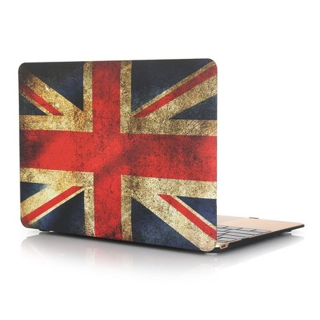MacBook 12 inch case - Retro UK flag