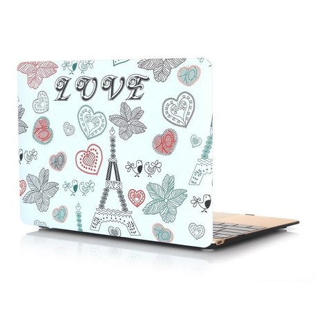 MacBook 12 inch case - Love Paris