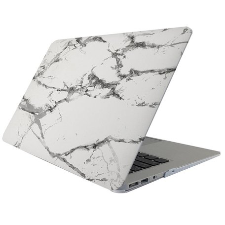 MacBook 12 inch case - Marble - Grijs