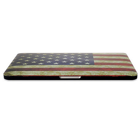 MacBook Pro Retina 13 inch cover - Retro VS flag