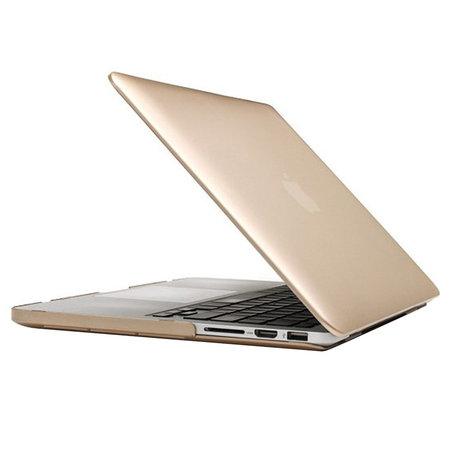 MacBook Pro Retina 15 inch cover - Goud