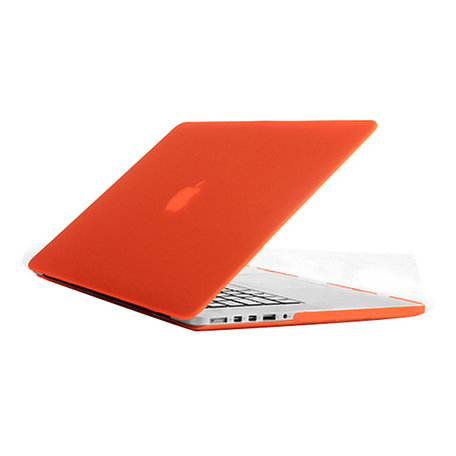 MacBook Pro Retina 15 inch cover - Oranje