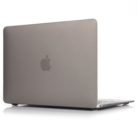 MacBook Air 13 inch case 2018 - grijs (A1932, touch id versie)