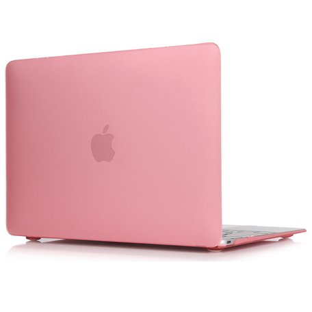 MacBook Air 13 inch case 2018 - roze (A1932, touch id versie)