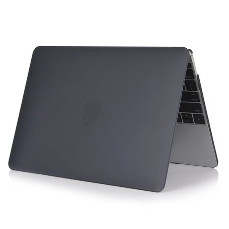 MacBook Air 13 inch case 2018 - Zwart (A1932, touch id versie)