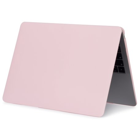 MacBook Air 13 inch case 2018 - pastel roze (A1932, touch id versie)
