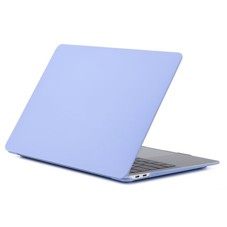 MacBook Air 13 inch case 2018 - pastel paars (A1932, touch id versie)