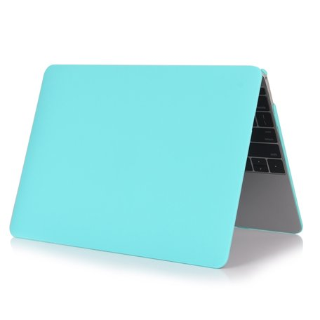 MacBook Air 13 inch case 2018 - wit blauw (A1932, touch id versie)