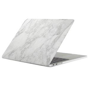 MacBook Pro retina touchbar 13 inch case - marble wit