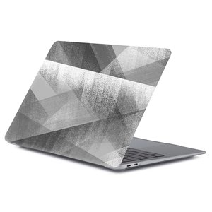 MacBook Air 13 inch - Touch id versie - Donkergrijs abstract (2018, 2019 & 2020)