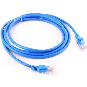2m CAT5E Ethernet netwerk LAN kabel (10000 Mbit/s) - Blauw