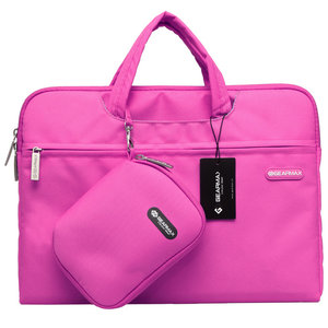 laptoptas roze