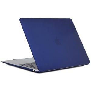 MacBook Air 13 inch case 2018 - navy blauw (A1932, touch id versie)
