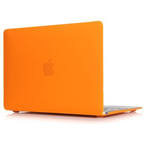 MacBook Air 13 inch case 2018 - oranje (A1932, touch id versie)