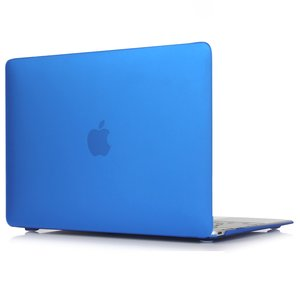 MacBook Air 13 inch case 2018 - donker blauw (A1932, touch id versie)