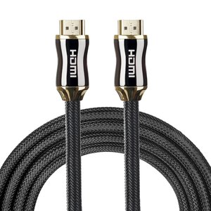 HDMI kabel 1.5 meter - HDMI 2.0 versie - High Speed - HDMI 19 Pin Male naar HDMI 19 Pin Male Connector Cable - Black line